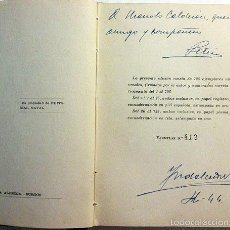Militaria: BABOR Y ESTRIBOR DE GUARDIA. (M., 1943. 1ª ED.) NUÑEZ. TIRADA NUMERADA Y DEDICATORIA AUTÓGRAFA. Lote 57380434