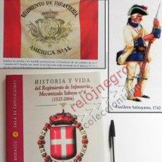 Military - HISTORIA Y VIDA DEL REGIMIENTO MECANIZADA SABOYA Nº 6 - LIBRO EJÉRCITO DE ESPAÑA MILITAR TERCIO RIMZ - 57451964