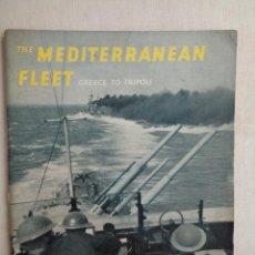 Militaria: THE MEDITERRANEAN FLEET. GREECE TO TRIPOLI. M0696. Lote 57477533
