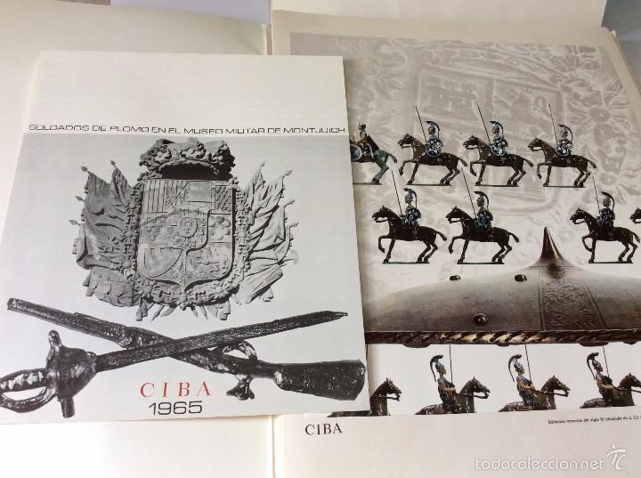 CIBA 1965, SOLDADOS DE PLOMO EN EL MUSEO MILITAR DE MONTJUICH. (Militar - Libros y Literatura Militar)