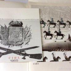 Militaria: CIBA 1965, SOLDADOS DE PLOMO EN EL MUSEO MILITAR DE MONTJUICH.. Lote 57513555