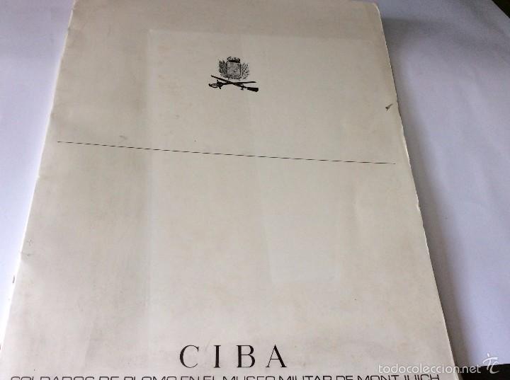 Militaria: CIBA 1965, Soldados de Plomo en el Museo Militar de Montjuich. - Foto 11 - 57513555