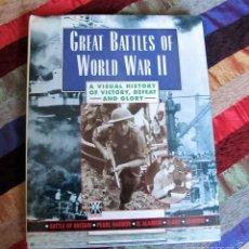 Militaria: GREAT BATTLES OF THE WWII, GRANDES BATALLAS DE LA WWII. Lote 57576364