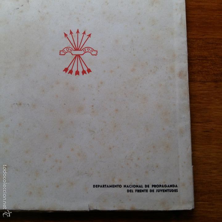 Militaria: NACIONALSINDICALISMO PARA JUVENTUDES CAMPESINAS. SEMINARIO CENTRAL DE FORMACION POLITICA. 1948 - Foto 3 - 57762238