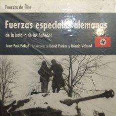 Militaria: FUERZAS ESPECIALES ALEMANAS DE LA BATALLA DE LAS ARDENAS. FUERZAS DE ÉLITE. OSPREY. Lote 57938603