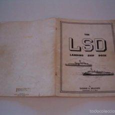 Militaria: EUGENE E. BRACKEN. THE LSD. LANDING SHIP DOCK. RM75589. . Lote 58005642