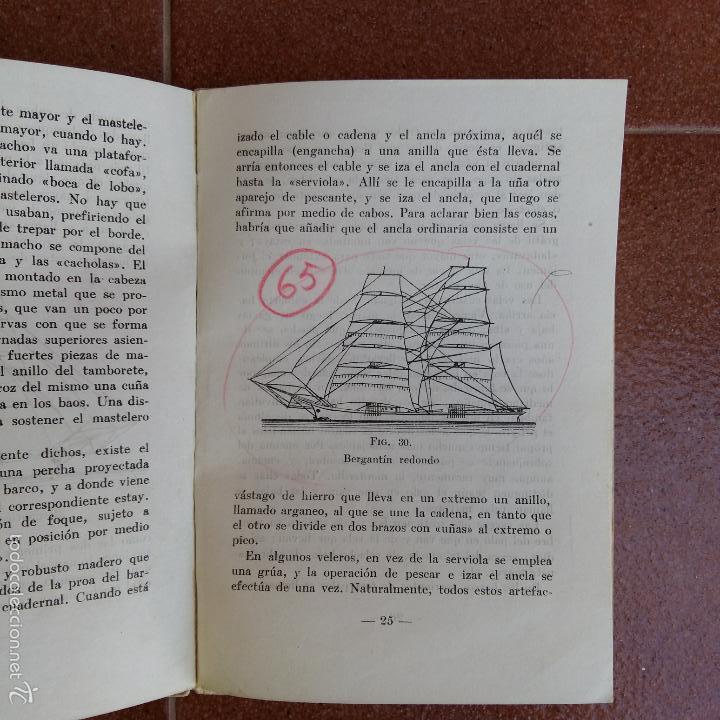 Militaria: JARCIAS NUDOS Y APAREJOS. FALANGES DEL MAR. AÑOS 30 40 - Foto 3 - 58112994