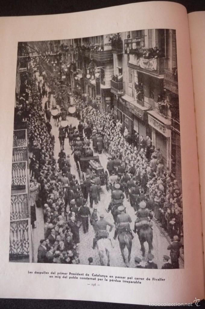 Militaria: (JX-1803)ALBUM RECORD FRANCESC MACIA-ANY 1934-GRAFIQUES RIBERA-BARCELONA 1934-MUY ILUSTRADO-VER FOTO - Foto 7 - 58360860