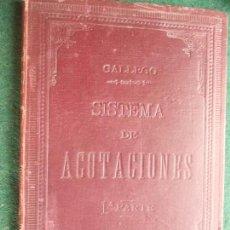 Militaria: SISTEMA DE ACOTACIONES 1.896. Lote 58404634