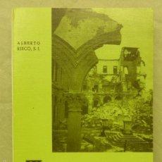 Militaria: LA EPOPEYA DEL ALCAZAR DE TOLEDO, POR ALBERTO RISCO - EDITORIAL CATÓLICA TOLEDANA, 1967 - NUEVO. Lote 58433903