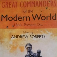 Militaria: GREAT COMMANDERS OF THE MODERN WORLD. Lote 58477955
