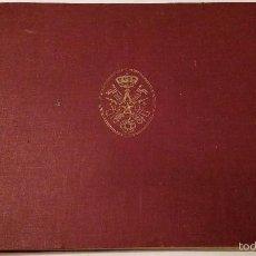 Militaria: FRANCO.LIBRO MILITAR ANTIGUO: HOMENAJE DE ADHESIÓN DE LOS GENERALES, JEFES, ETC - 1946. Lote 58557760