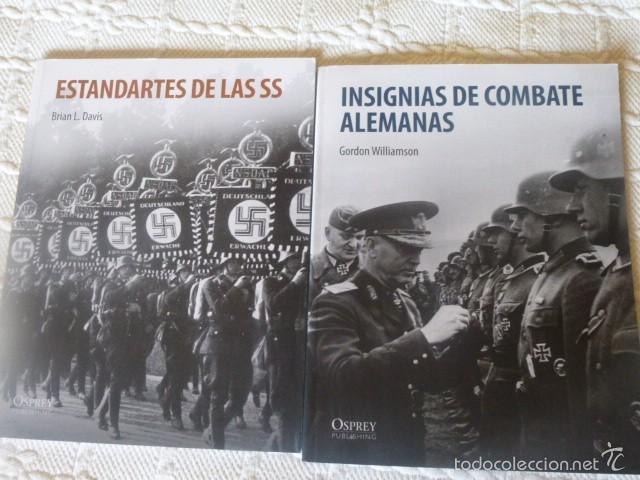 OSPREY II GUERRA MUNDIAL LOTE ESTANDARTES DE LAS SS + INSIGNIAS DE COMBATE ALEMANAS (Militar - Libros y Literatura Militar)