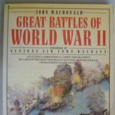 Militaria: GREAT BATTLES OF WORLD WAR II , GRANDES BATALLAS DE LA 2º GUERRA MUNDIAL, EN INGLES. Lote 58861501