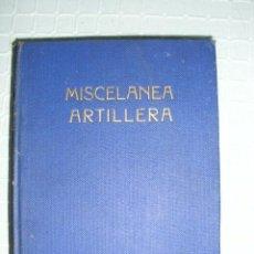 Militaria: HISTÓRICO - MISCELÁNEA ARTILLERA - EDITORIAL NAVAL - 1940 - SEMINUEVO - Nº 333 - COLECCIONISTAS. Lote 59908095