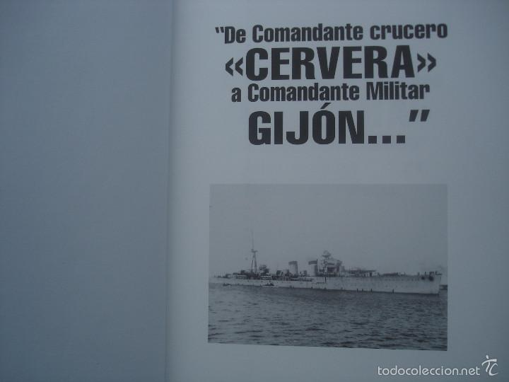 Militaria: De Comandante Crucero Cervera a Comandante militar Gijón...Artemio Mortera Pérez - Foto 2 - 60438859