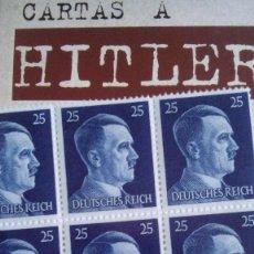 Militaria: CARTAS A HITLER. . Lote 60929155