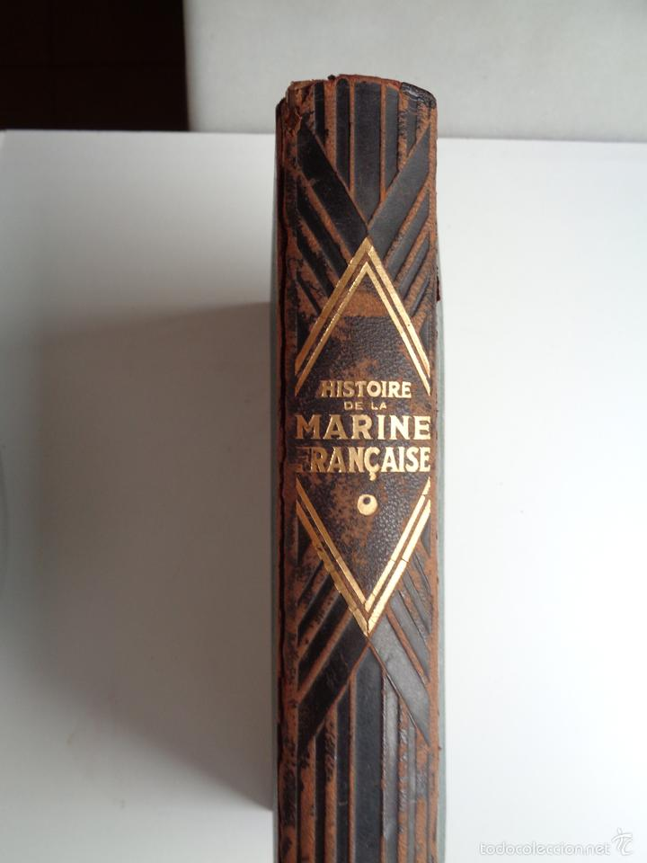 Militaria: HISTOIRE DE LA MARINE FRANCAISE.M0718 - Foto 2 - 61249219