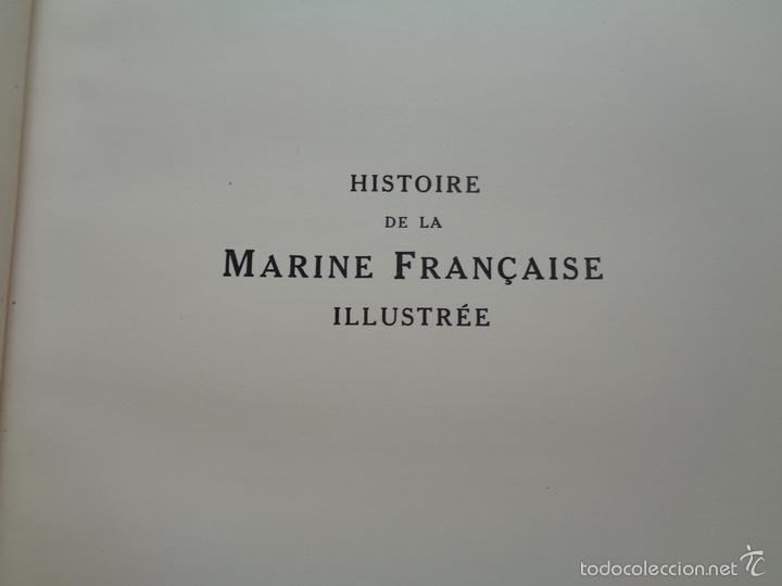 Militaria: HISTOIRE DE LA MARINE FRANCAISE.M0718 - Foto 3 - 61249219