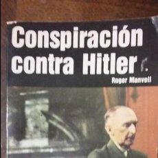Militaria: CONSPIRACION CONTRA HITLER. ED SAN MARTIN. Lote 61249647