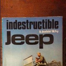 Militaria: INDESTRUCTIBLE JEEP. ED. SAN MARTIN. Lote 61249699