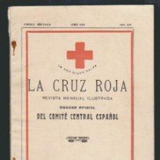 Militaria: LA CRUZ ROJA.REVISTA MENSUAL ILUSTRADA.Nº384.JUNIO 1934. Lote 61385943