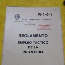 Militaria: REGLAMENTO EMPLEO TACTICO DE LA INFANTERIA, SERVICIO GEOGRAFICO EJERCITO, 1983. Lote 61701636