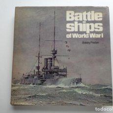 Militaria: BATTLE SHIPS OF WORLD WAR I.M0727. Lote 62121612