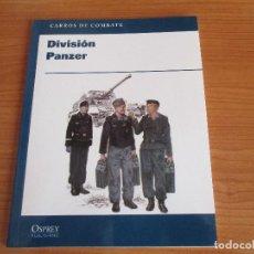 Militaria: OSPREY - CARROS DE COMBATE: DIVISION PANZER. Lote 62301732