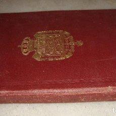 Militaria: ORDENANZAS DE LA ARMADA Y DEL EJERCITO. ARTURO ARMADA. PARA LA ESCUELA NAVAL MILITAR. MADRID - 1919. Lote 62382824