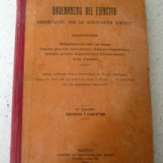 Militaria: ORDENANZAS DEL EJERCITO 1914. Lote 62751624