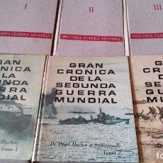 Militaria: LOTE SEGUNDA GUERRA MUNDIAL: GRAN CRÓNICA SELECCIONES READER´S - SEGUNDA GUERRA MUNDIAL PLAZA JANES. Lote 63994959