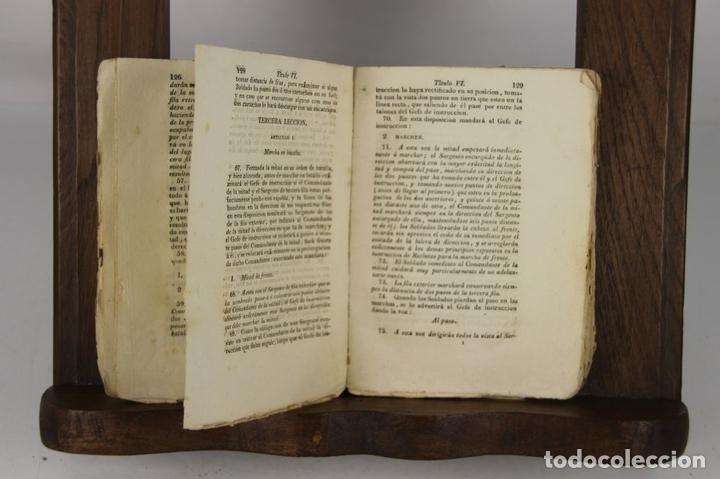 Militaria: 4900- REGLAMENTO PARA EL EXERCICIO Y MANIOBRAS DE LA INFANTERIA. VV.AA. IMP. REAL. 1812. - Foto 2 - 43941492