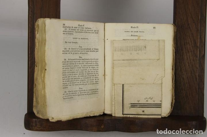 Militaria: 4900- REGLAMENTO PARA EL EXERCICIO Y MANIOBRAS DE LA INFANTERIA. VV.AA. IMP. REAL. 1812. - Foto 4 - 43941492