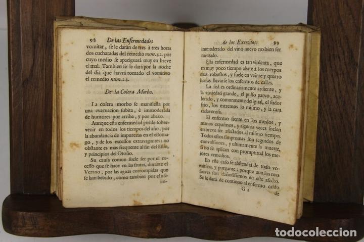 Militaria: 4907- DESCRIPCION COMPENDIOSA DE LAS ENFERMEDADES... VAN SWIETEN. IMP. JOAQUIN IBARRA. 1761. - Foto 2 - 43942391