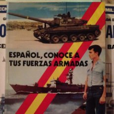 Militaria: ESPAÑOL, CONOCE A TUS FUERZAS ARMADAS - FERNANDO DE SALAS LÓPEZ - TERCERA EDICIÓN - 1976. Lote 64913721