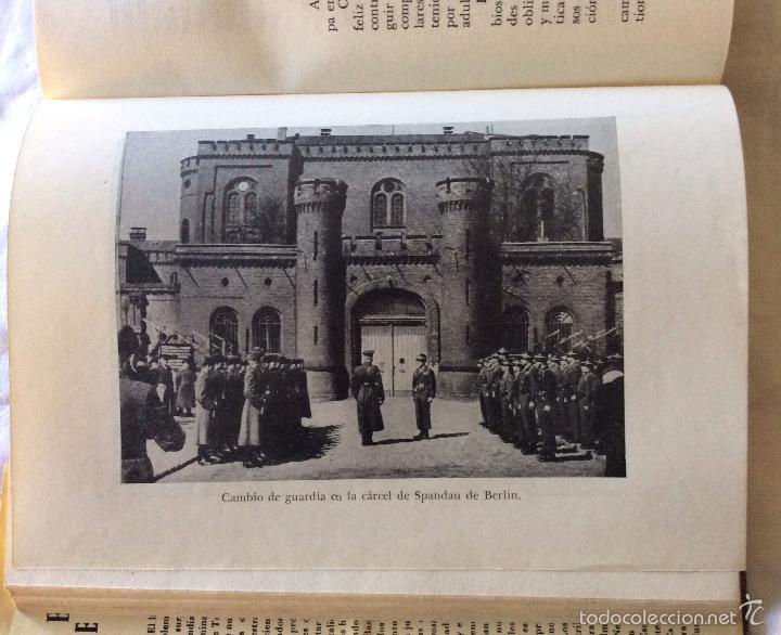 Militaria: El Crimen de Nuremberg-- Barcelona, 1954. 1ª edición. - Foto 3 - 65694222