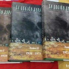 La Legión Española: 75 años de historia (1920-1995) tercio de extranjeros