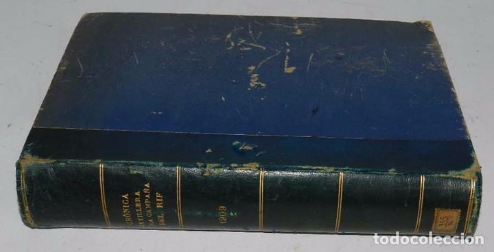 CRÓNICA ARTILLERA DE LA CAMPAÑA DE MELILLA DE 1909. (CRÓNICA ARTILLERA DE LA CAMPAÑA DEL RIF, TÍTULO (Militar - Libros y Literatura Militar)