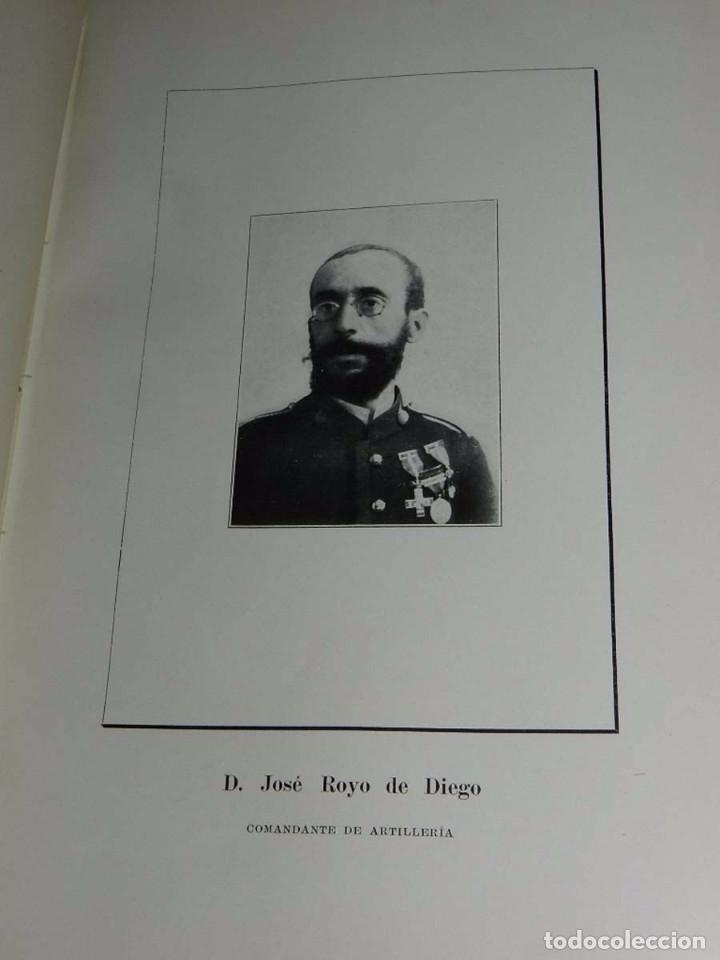 Militaria: Crónica artillera de la campaña de Melilla de 1909. (Crónica artillera de la campaña del Rif, título - Foto 3 - 66823210