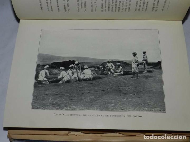 Militaria: Crónica artillera de la campaña de Melilla de 1909. (Crónica artillera de la campaña del Rif, título - Foto 4 - 66823210