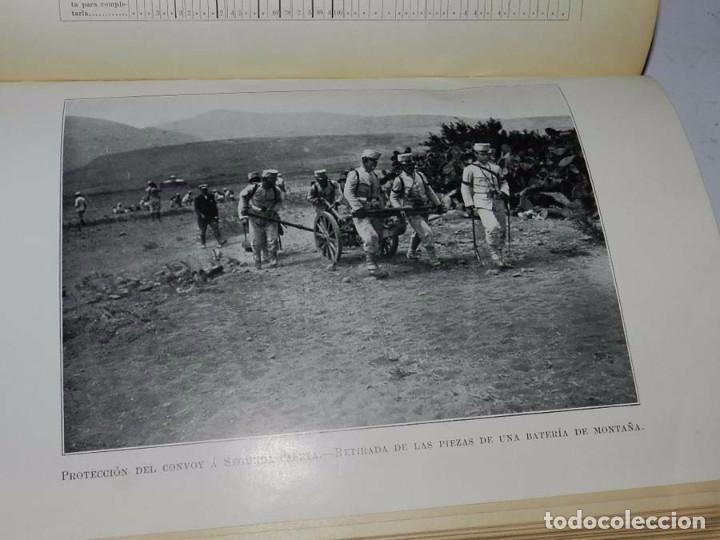 Militaria: Crónica artillera de la campaña de Melilla de 1909. (Crónica artillera de la campaña del Rif, título - Foto 5 - 66823210