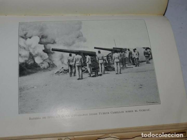 Militaria: Crónica artillera de la campaña de Melilla de 1909. (Crónica artillera de la campaña del Rif, título - Foto 6 - 66823210