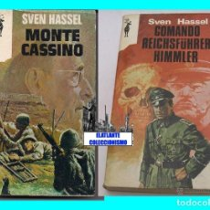 Militaria: COMANDO REICHSFÜHRER HIMMLER MONTE CASSINO - SVEN HASSEL - PLAZA & JANES - SEGUNDA GUERRA MUNDIAL. Lote 67361001