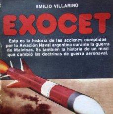 Militaria: GUERRA MALVINAS EXOCET AVIACION NAVAL PROFUSAMENTE ILUSTRADO. Lote 67599417