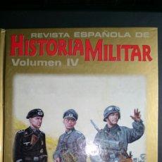 Militaria: REVISTA HISTORIA MILITAR VOLUMEN IV. Lote 67809705
