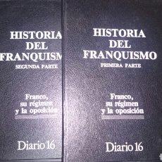 Militaria: HISTORIA DEL FRANQUISMO DIARIO 16. Lote 68062579