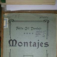 Militaria: MONTAJES DE ARTILLERIA 1912. Lote 68103579