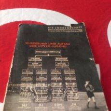 Militaria: LIBRO HITLER-JUGEND 1936. Lote 68565009