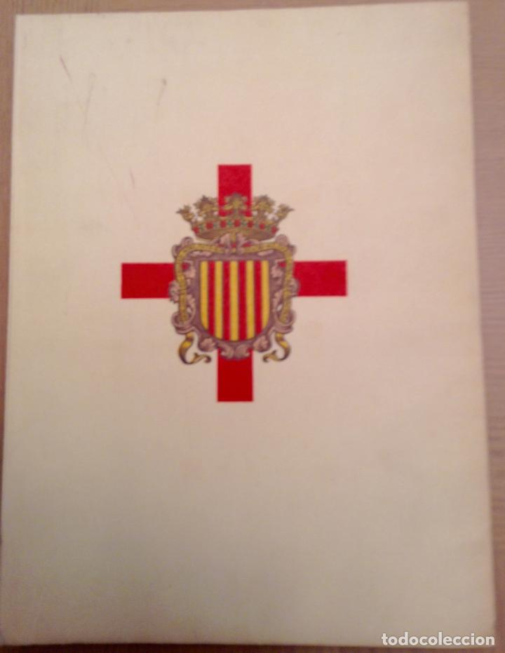 REAL CUERPO DE LA NOBLEZA ANTIGUO BRAZO MILITAR DEL PRINCIPADO DE CATALUÑA 1972 (Militar - Libros y Literatura Militar)